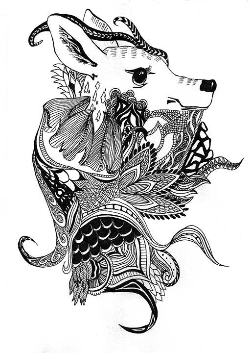 ink_deer